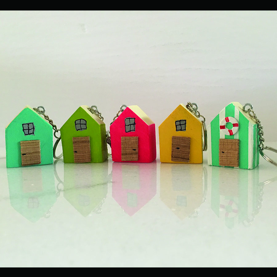 Little House Key Chains